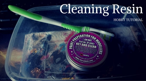 Cleaning Resin