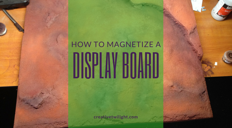 Magnetized Display Board