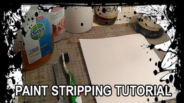 Paint Stripping with Dettol