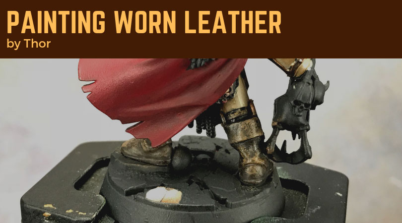 Painting Worn Leather