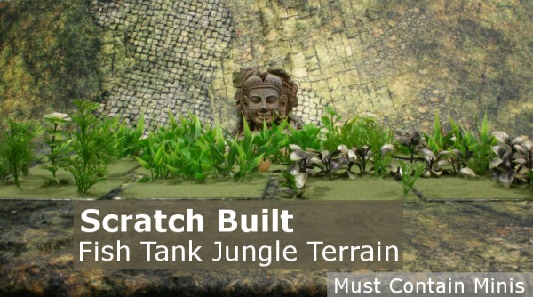 Scratch Built 28mm Jungle Terrain for 28mm Wargaming