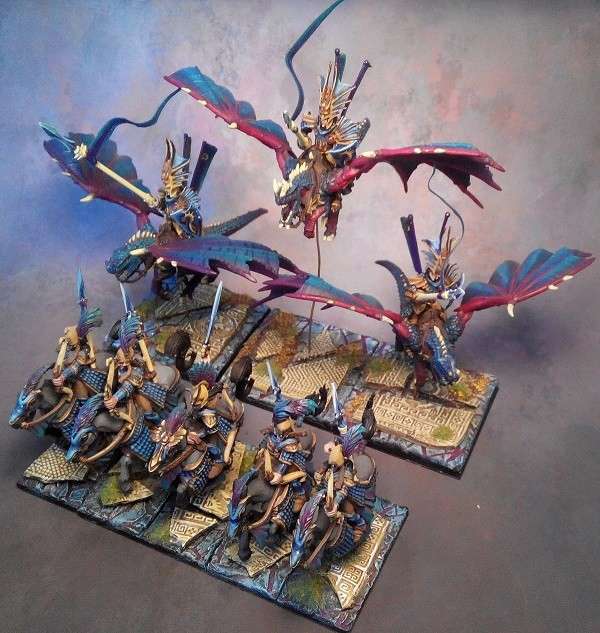 Kings of War Drakon Riders