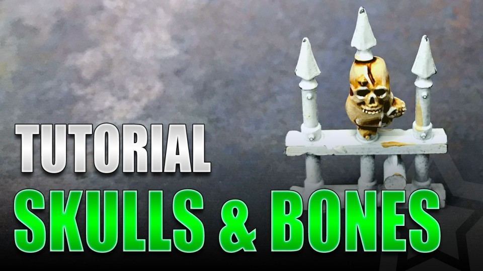 Skulls & Bones Painting Tutorial