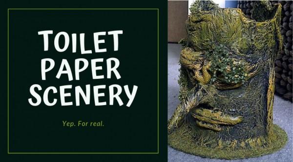 Toile Paper Scenery