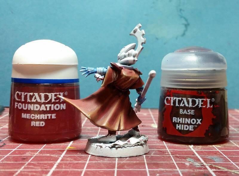 painting eldar aeldari farseer robes tutorial warhammer 40k