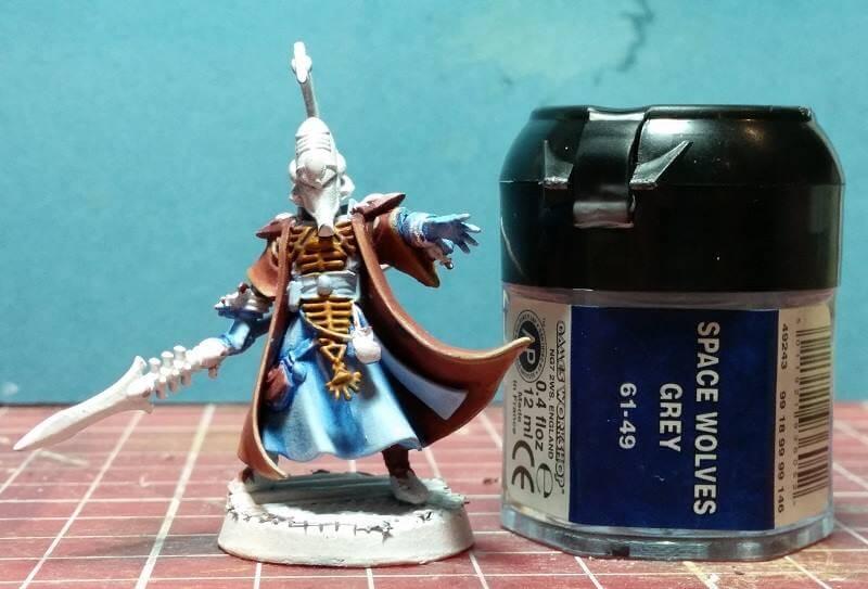 painting eldar aeldari farseer robes tutorial warhammer 40k glazes howto