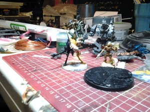 miniature painting project management