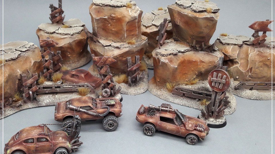 Gaslands Desert Terrain Tutorial