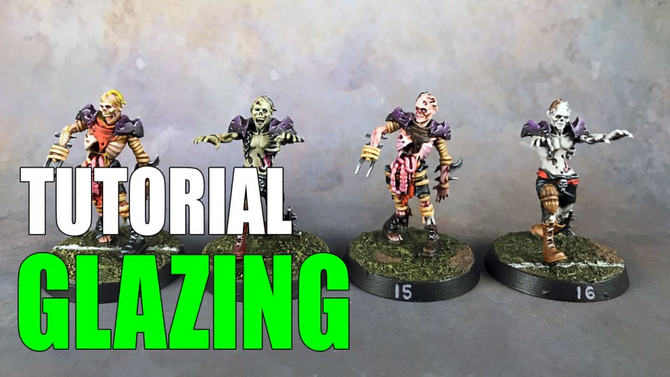 How to Glaze Miniatures