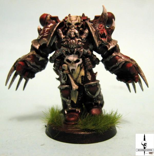 painted word bearer warhammer 40k