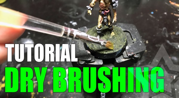 How to Dry Brush Miniatures