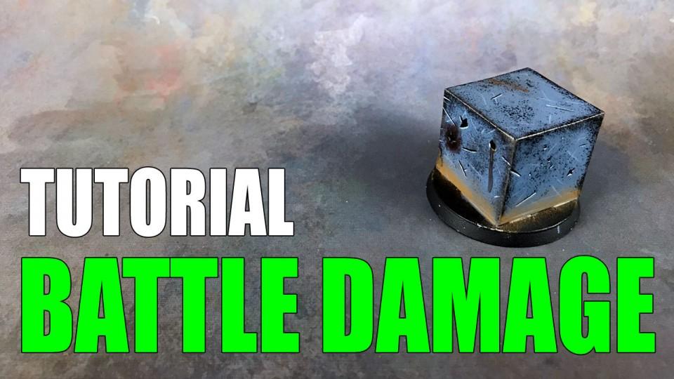 Painting Battle Damage and Weathering