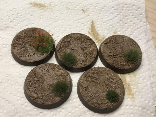Dry Mud Bases