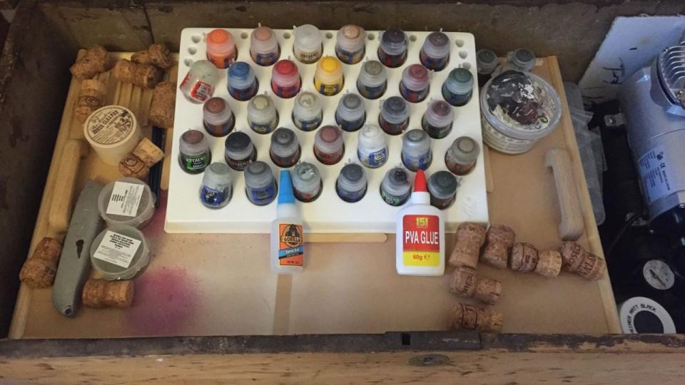 DIY Hobby Tray