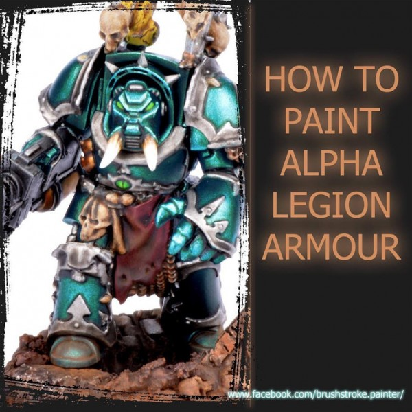 How to Paint Alpha Legion
