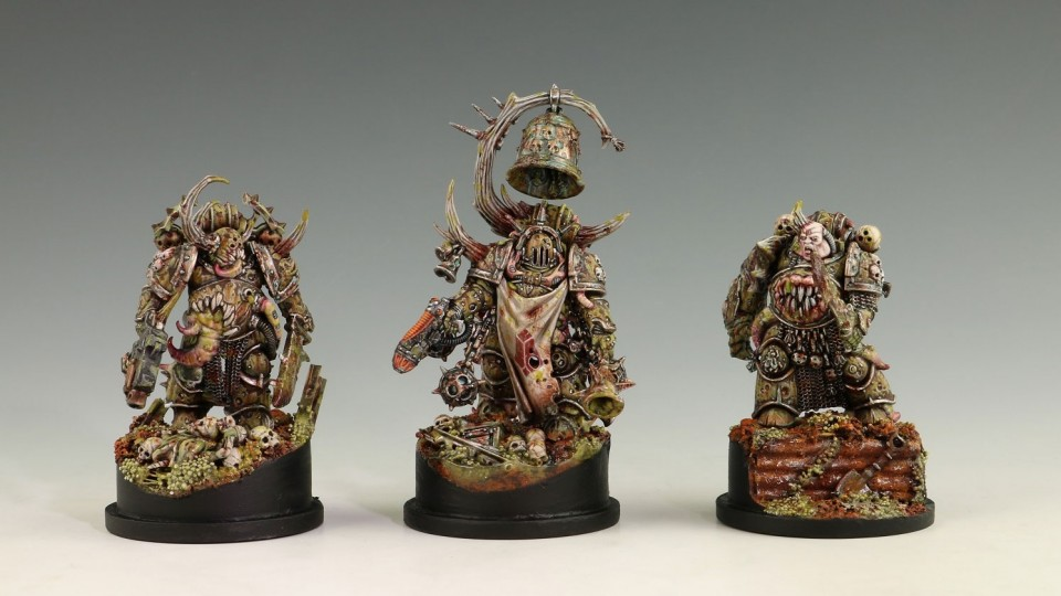 Death Guard - Painting Rust