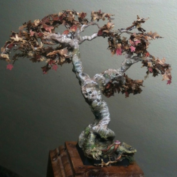 Realistic Miniature Trees