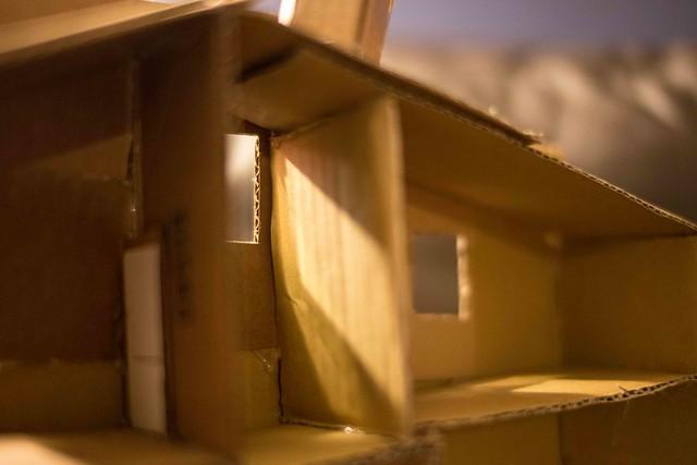 Terrain scratch building cardboard
