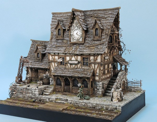 Papercraft Terrain Wargaming