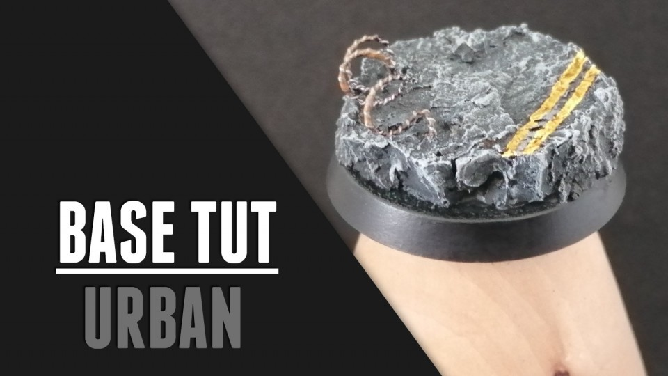 Urban Basing Tutorial for Miniature Wargaming (Step by Step)