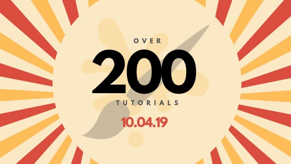 Over 200 Tutorials