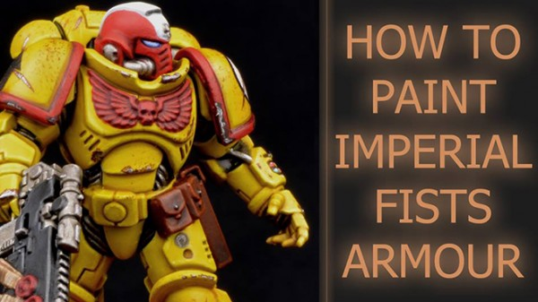 Painting Imperial Fists