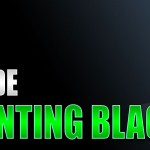 How to Paint Black