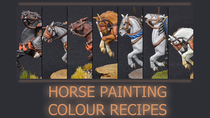 How to Paint Miniature Horses