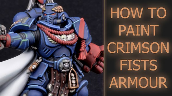 Painting Crimson Fists