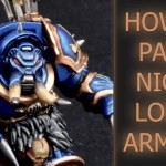 Paint Night Lords Armour