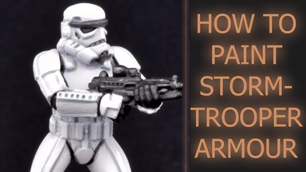 Painting Stormtrooper Armour