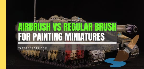 Airbrush vs Regular Brush