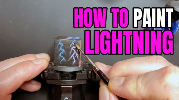 How to Paint Lightning