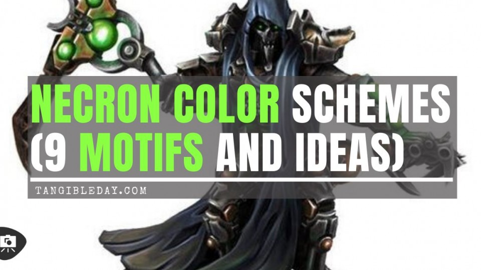 Necron Color Schemes