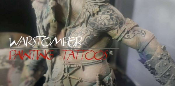 How to Paint Tattoos on Your Miniatures (Tutorial)