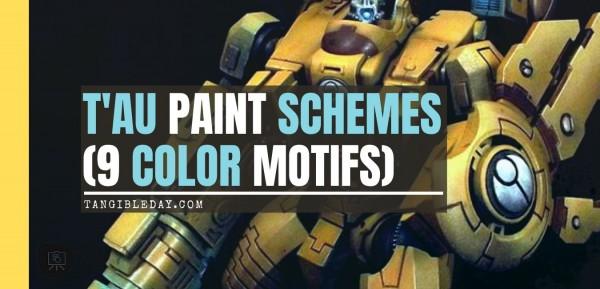 T'au Paint Schemes