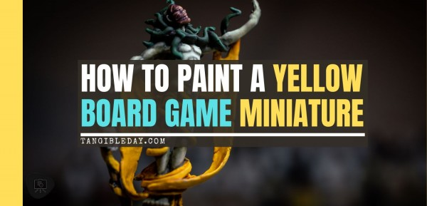 How to Paint Yellow on Miniautres