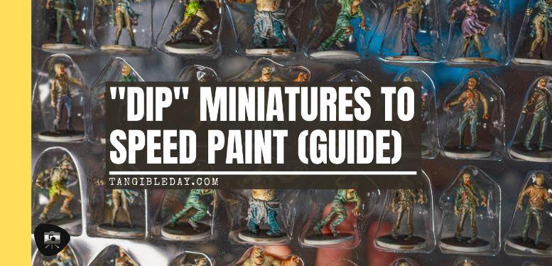 How to Dip Miniatures