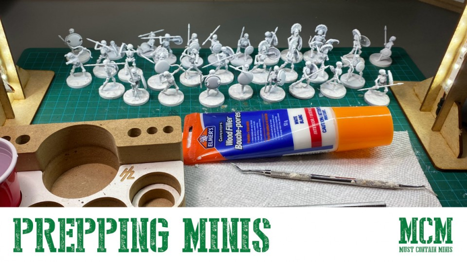 Tips & Advice on How to Prep Plastic Miniatures for Painting