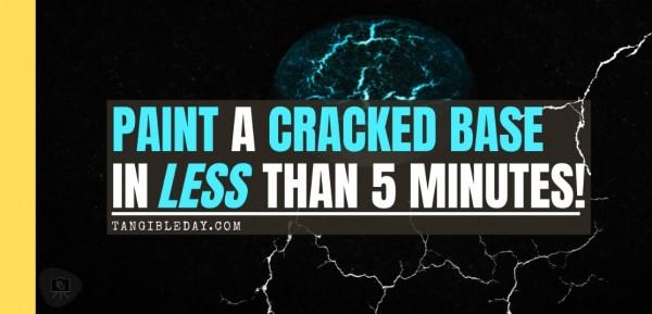 Cracked Miniature Base